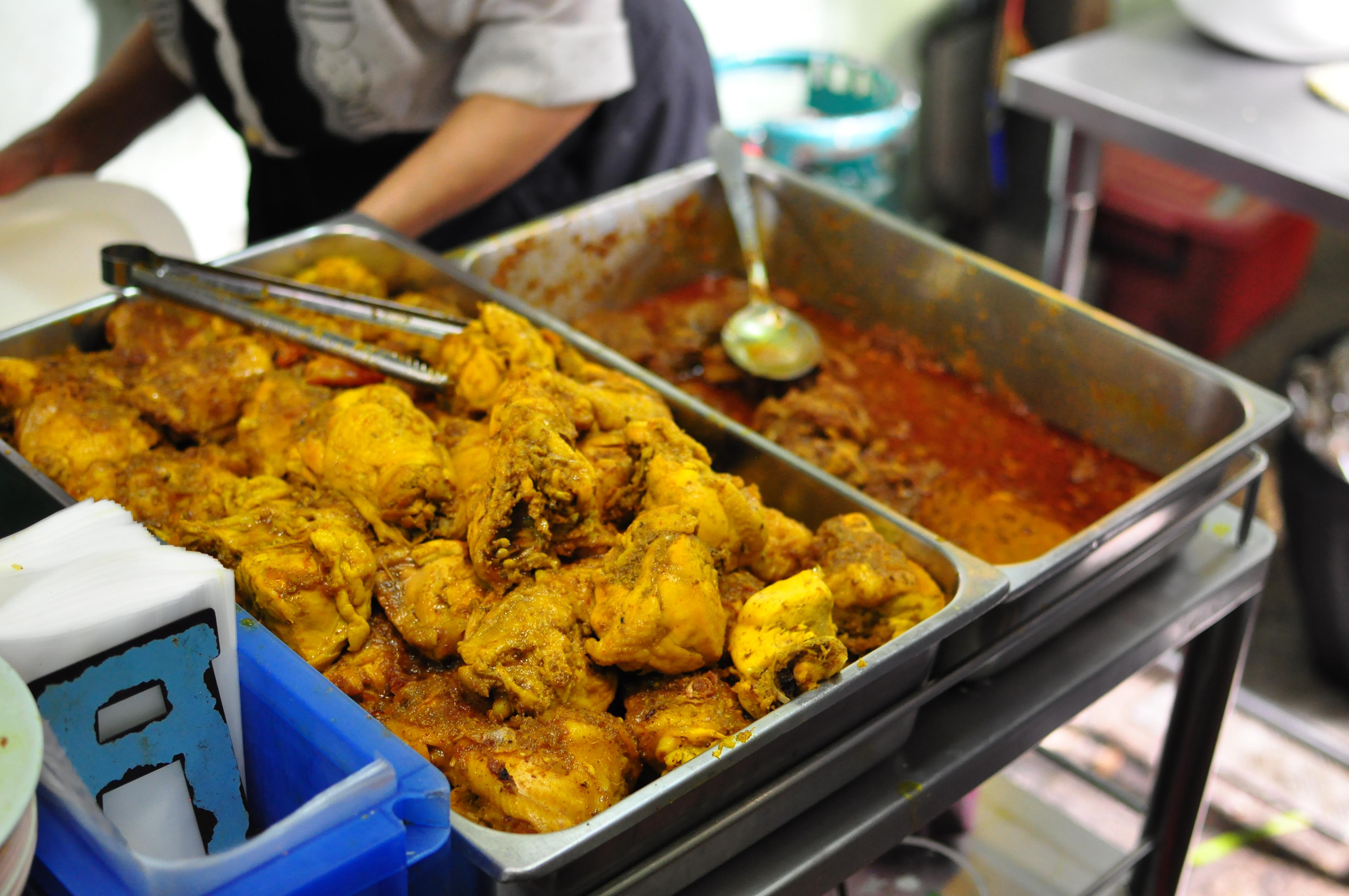 Thai Muslim Yellow Chicken