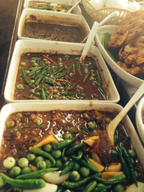 Selection of chili dips