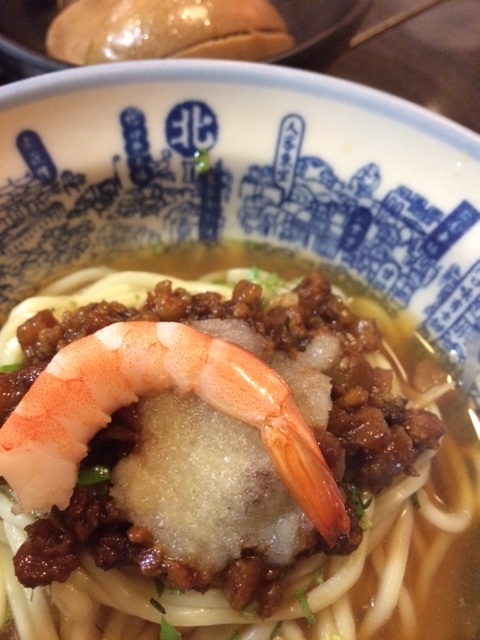 Traditional danzai noodles from Slack Season Noodles