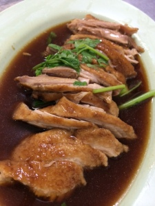 Duck meat without the noodles