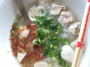 Vietnamese-style rice noodles at Guay Jab Yuan