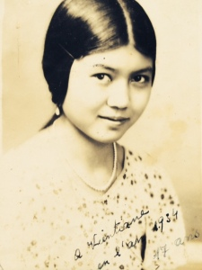 Grandma Jeanette at 17 in Vientiane