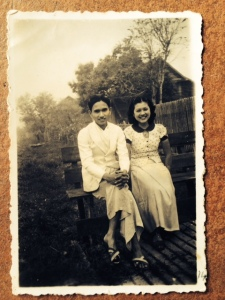 My grandparents at 19 in Chiang Rai